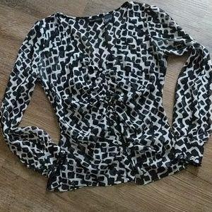 NY&Co. Sheer blouse
